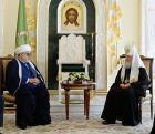 Святейший Патриарх Кирилл встретился с председателем Управления мусульман Кавказа шейх-уль-исламом Аллахшукюром Паша-заде