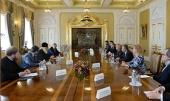 Предстоятель Русской Православной Церкви встретился с руководителями российских информационных агентств и печатных СМИ