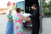 Опубликованы данные о помощи, оказанной Церковью беженцам с востока Украины на территории России