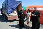 Церковная помощь беженцам с восточной Украины в регионах России