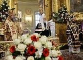 Проповедь Святейшего Патриарха Кирилла в праздник Воздвижения Креста Господня в московском храме священномученика Климента, папы Римского