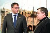 Председатель Синодального отдела по взаимоотношениям Церкви и общества встретился с новоизбранным председателем Мосгордумы