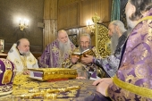 Предстоятель Украинской Православной Церкви возглавил хиротонию архимандрита Евсевия (Дудки) во епископа Хотинского, викария Черновицкой епархии