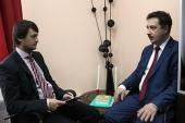 Интервью с проректором Русской христианской гуманитарной академии Д.В. Шмониным