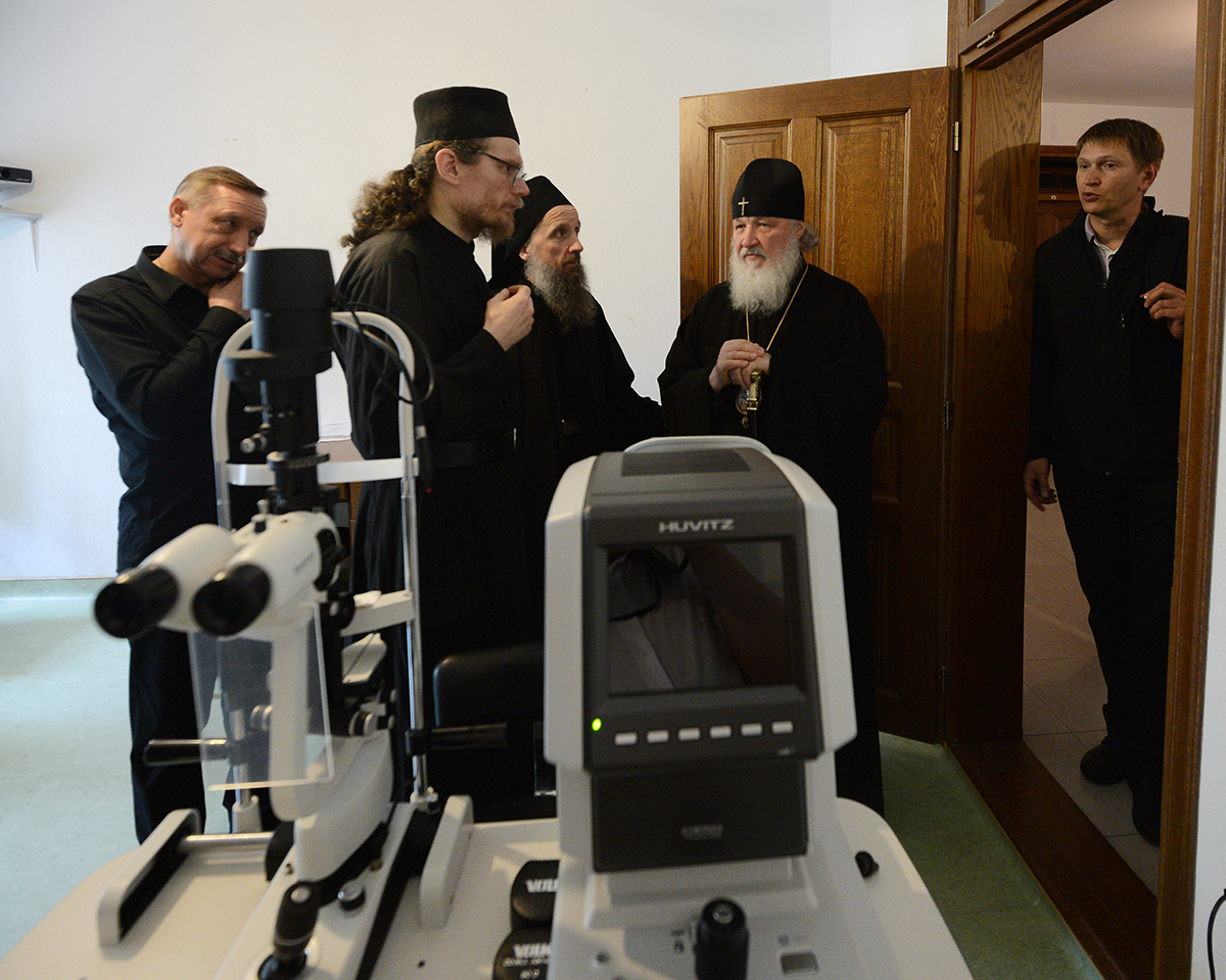 Визит Святейшего Патриарха Кирилла в Грецию. Посещение Русского на Афоне Свято-Пантелеимонова монастыря