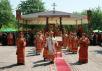 Патриаршее служение в праздник Собора новомучеников, в Бутове пострадавших, на Бутовском полигоне