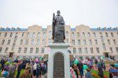 Памятник преподобному Сергию Радонежскому открыт в столице Казахстана