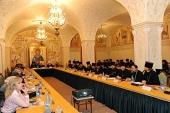 На совещании в Храме Христа Спасителя в Москве обсудили вопросы организации жизни новых приходских общин