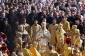 Митрополит Киевский и всея Украины Онуфрий возглавил торжества по случаю 215-летия Харьковской епархии