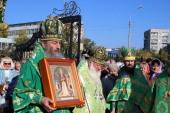 Предстоятель Украинской Православной Церкви посетил Святогорскую лавру и совершил чин прославления местночтимых святых в Северодонецке