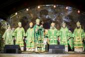 Главные юбилейные торжества Санкт-Петербургской митрополии, посвященные 700-летию преподобного Сергия Радонежского, прошли в Троице-Сергиевой Приморской пустыни