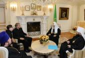 Святейший Патриарх Кирилл принял генерального секретаря Всемирного совета церквей Олафа Фюксе Твейта