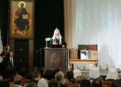 Святейший Патриарх Кирилл возглавил торжества по случаю 200-летия пребывания Московских духовных школ в Троице-Сергиевой лавре