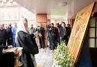 Святейший Патриарх Кирилл освятил здание нового общежития Московской духовной академии и семинарии
