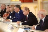 Президент России высоко оценил усилия Святейшего Патриарха Кирилла, направленные на прекращение братоубийственного конфликта на Украине