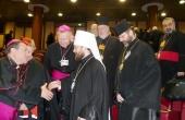Митрополит Волоколамский Иларион выступил на пленарном заседании Синода католических епископов в Ватикане