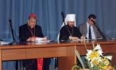 Митрополит Волоколамский Иларион выступил с лекцией на открытии учебного года на Богословском факультете в Неаполе