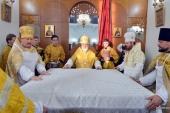 Патриарший экзарх всея Беларуси освятил Воскресенский собор в г. Борисов Минской области