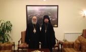 Предстоятель Антиохийской Православной Церкви принял представителя Патриарха Московского и всея Руси