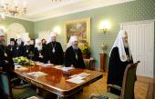 В Патриаршем и Синодальном духовно-административном и культурном центре Русской Православной Церкви на Юге России проходит очередное заседание Священного Синода