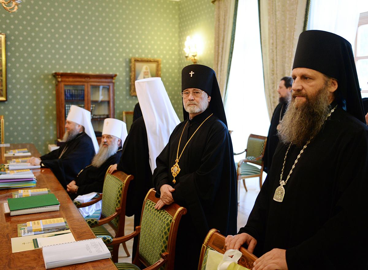 Заседание Священного Синода Русской Православной Церкви 23 октября 2014 года