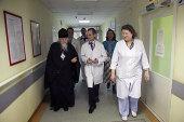 Председатель Синодального отдела по социальному служению посетил московскую больницу № 12