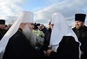 Святейший Патриарх Кирилл прибыл в Саратов