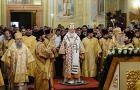 Святейший Патриарх Кирилл совершил всенощное бдение в Покровском храме г. Саратова