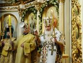 Патриарший визит в Саратовскую митрополию. Всенощное бдение в Покровском храме г. Саратова