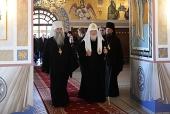 Святейший Патриарх Кирилл посетил Свято-Троицкий кафедральный собор г. Саратова