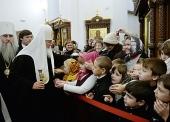 Святейший Патриарх Кирилл посетил Иоанновский женский монастырь в селе Алексеевка Саратовской области