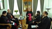 Митрополит Волоколамский Иларион встретился с великим магистром Ордена Гроба Господня