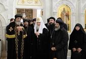 Святейший Патриарх Московский и всея Руси Кирилл встретился с Патриархом Коптской Церкви Феодором II