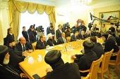 Состоялась встреча Предстоятеля Коптской Церкви с министром иностранных дел Российской Федерации С.В. Лавровым