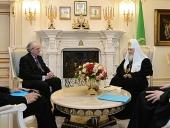 Состоялась встреча Святейшего Патриарха Кирилла с послом Испании в Российской Федерации Хосе Игнасио Карбахалем Гарате