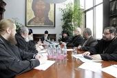 В Сретенском монастыре состоялось очередное заседание комиссии Межсоборного присутствия по вопросам церковного права