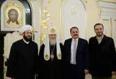 Встреча Святейшего Патриарха Кирилла с Верховным муфтием Сирии
