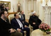 Святейший Патриарх Кирилл встретился с Верховным муфтием Сирии