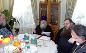 Состоялось второе заседание Синодальной богослужебной комиссии под председательством архиепископа Курганского Константина