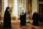 Слово Святейшего Патриарха Кирилла памяти митрополита Никодима (Ротова) при посещении Александро-Невской лавры
