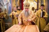 Митрополит Саратовский Лонгин совершил великое освящение Свято-Троицкого кафедрального собора г. Саратова