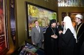Святейший Патриарх Кирилл возглавил церемонию открытия XIII выставки-форума «Православная Русь — к Дню народного единства»