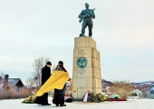 На торжествах в честь 70-летия освобождения Северной Норвегии прошли заупокойные богослужения по советским воинам-освободителям