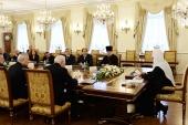 В Даниловом монастыре состоялось заседание Бюро Президиума и Экспертного центра Всемирного русского народного собора