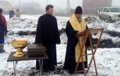 В пригороде Уфы заложен храм во имя преподобного Сергия Радонежского