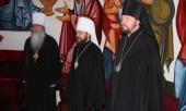 Митрополит Волоколамский Иларион выступил с докладом на Академической конвокации Свято-Владимирской духовной семинарии в Нью-Йорке