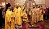Митрополит Волоколамский Иларион совершил Литургию в Николаевском кафедральном соборе в Нью-Йорке
