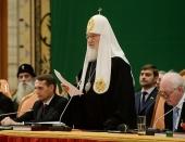 Святейший Патриарх Кирилл: Для успешного развития мы должны взять все значимое и ценное из различных периодов истории нашей страны