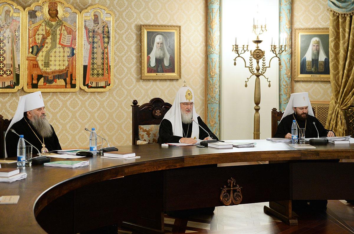 Заседание Высшего Церковного 13 ноября 2014 года