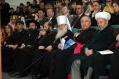 Глава Среднеазиатского митрополичьего округа выступил на прошедшей в Ташкенте международной конференции, посвященной развитию межконфессионального диалога
